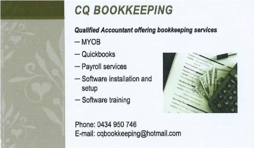 CQ Bookkeeping - Gold Coast Accountants